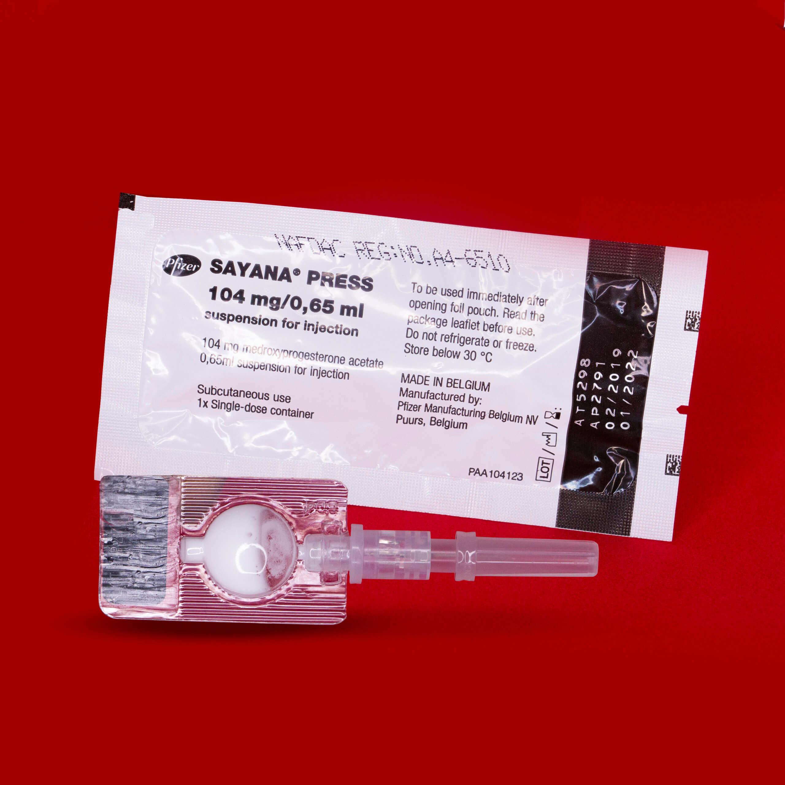 Sayana Press Self-Injectible Contraceptive