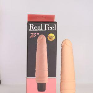 7.5'' Real Feel Vibrating Dildo